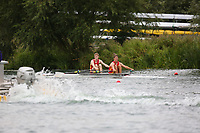 Race: 158  2x (Band 2)  Final<br /> <br /> Peterborough Summer Regatta 2018 - Sunday<br /> <br /> To purchase this photo, or to see pricing information for Prints and Downloads, click the blue 'Add to Cart' button at the top-right of the page.