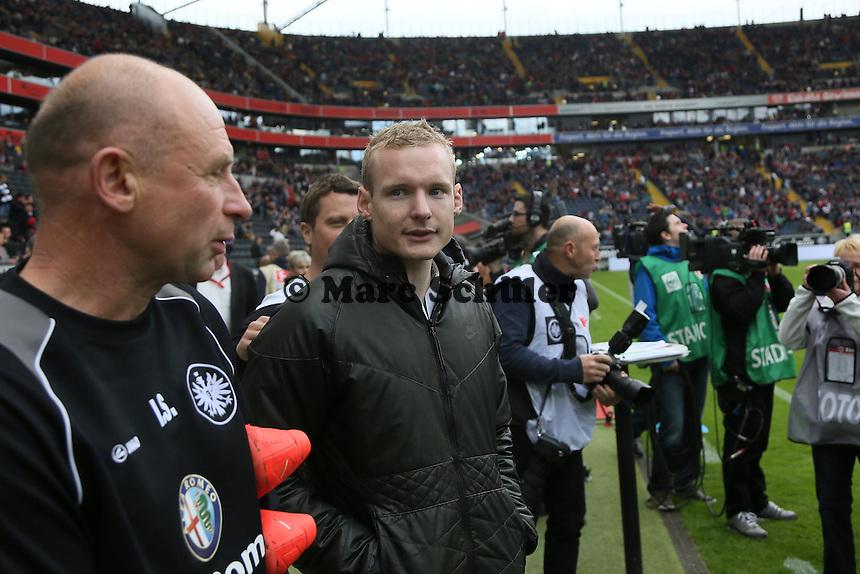 Verabschiedung Sebastian Rode (Eintracht) - Eintracht Frankfurt vs. Bayer Leverkusen, Commerzbank Arena