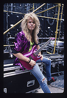 Portrait of Adrian Vandenberg of Whitesnake photographed in Buckeye, Ohio.<br /> July 20, 1987<br /> CAP/MPI/GA<br /> ©GA/MPI/Capital Pictures