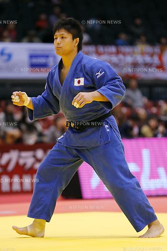Daiki Nishiyama (JPN), DECEMBER 7, 2014 - Judo : <br /> IJF Grand Slam Tokyo 2014 International Judo Tournament <br /> Men's -91kg Semi Final <br /> at Tokyo Metropolitan Gymnasium, Tokyo, Japan. <br /> (Photo by AFLO SPORT) [1180]
