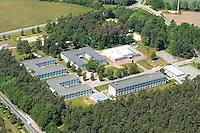 4415/Asylantenheim:EUROPA, DEUTSCHLAND, MECKLENBURG- VORPOMMERN, 28.05.2005:Hamburger Asylantenheim in Nostorf- Horst, Malteser, Unterbringung, Abschiebung,  Luftbild, Luftbild,