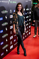 Clara Alvarado attends to El Jovencito Frankenstein premiere at La Luz Philips Teather in Madrid, Spain. November 13, 2018. (ALTERPHOTOS/A. Perez Meca) /NortePhoto.com