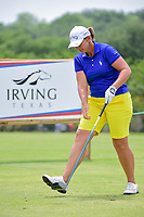 Angela Stanford (USA) watches her tee shot on 9 during round 2 of  the Volunteers of America Texas Shootout Presented by JTBC, at the Las Colinas Country Club in Irving, Texas, USA. 4/28/2017.<br /> Picture: Golffile | Ken Murray<br /> <br /> <br /> All photo usage must carry mandatory copyright credit (&copy; Golffile | Ken Murray)