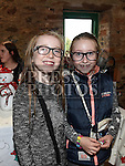 Nell Gibney and Holly Darvell at the Dunleer Christmas Fair in the Market House. Photo:Colin Bell/pressphotos.ie