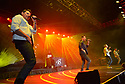 COCONUT CREEK, FL - FEBRUARY 28: (L-R) Nick Lachey, Jeff Timmons, Drew Lachey and Justin Jeffre of 98 Degrees perform on stage at Seminole Casino Coconut Creek on February 28, 2020 in Coconut Creek, Florida.  ( Photo by Johnny Louis / jlnphotography.com )
