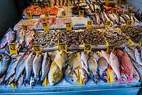 Fish, Chinatown, New York, New York USA.