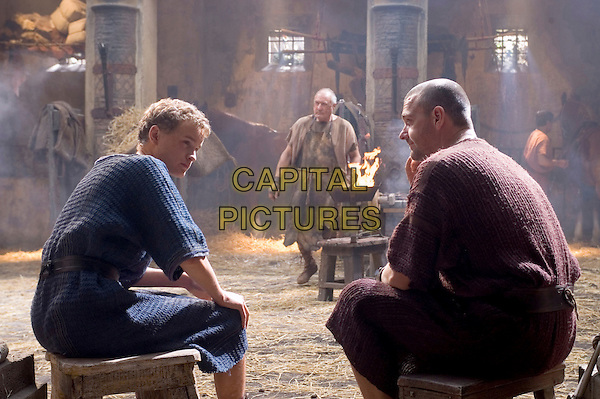 MAX PIRKIS & RAY STEVENSON.in Rome (Season 2) .**Editorial Use Only**.CAP/FB.Supplied by Capital Pictures