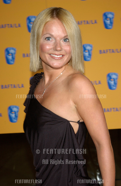 Pop star & former Spice Girl GERI HALLIWELL at the 11th Annual BAFTA/LA Britannia Awards at the Beverly Hills Hilton..12APR2002.  © Paul Smith / Featureflash