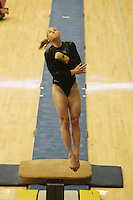 15 January 2006: Natalie Foley during Stanford's gymnastics meet at Maples Pavilion in Stanford, CA.