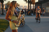 Sax on the Boardwalk