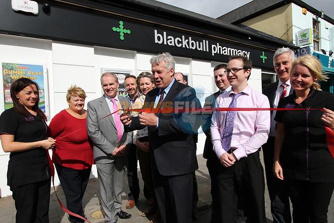 Minister for State Fergus O'Dowd Opens Back Bull Pharmacy...Photo NEWSFILE/Jenny Matthews.