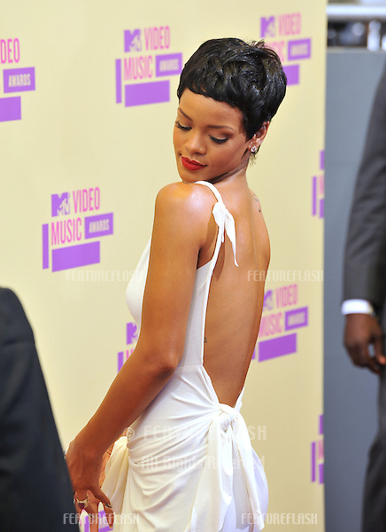 Rihanna at the 2012 MTV Video Music Awards at Staples Center, Los Angeles..September 6, 2012  Los Angeles, CA.Picture: Paul Smith / Featureflash