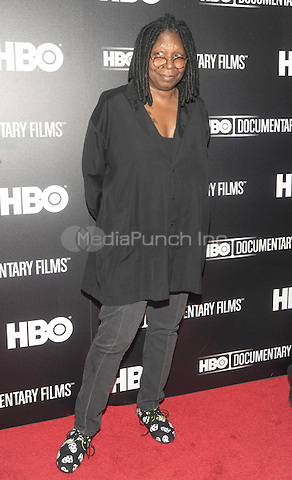 "New York, NY- June 5:  Whoopi Goldberg attends the ""Remember The Artist: Robert DeNero Sr."" New York Premiere at the Museum Of Modern Art on June 5, 2014 in New York City. (C) Credit: John Palmer/MediaPunch"