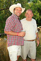 LOS ANGELES - AUG 27: Ken Smith, Jon Dellaria at the Clay Walker Country at the Downs concert  at Galway Downs on August 27, 2017 in Temecula, California