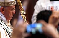 20130602 VATICANO: PAPA FRANCESCO PRESIEDE L'ADORAZIONE EUCARISTICA IN CONTEMPORANEA MONDIALE