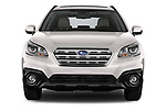 Car photography straight front view of a 2017 Subaru Outback Premium 5 Door Wagon