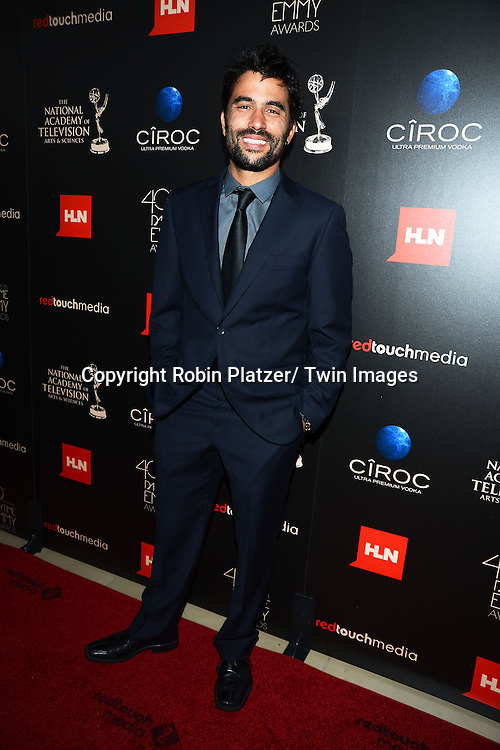 Ignacio Serricchio attends The 40th Annual Daytime Emmy Awards on<br />  June 16, 2013 at the Beverly Hilton Hotel in Beverly Hills, California.