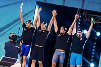 Team Italy<br /> CODIA Piero<br /> ORSI Marco<br /> DOTTO Luca<br /> MEGLI Filippo<br /> day 01  08-08-2017<br /> Energy For Swim<br /> Rome  08 -09  August 2017<br /> Stadio del Nuoto - Foro Italico<br /> Photo Deepbluemedia/Insidefoto