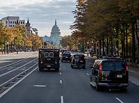 NOV 09 Presidential Motorcade