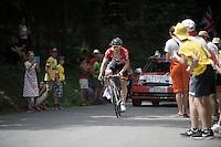 André Greipel (DEU/Lotto-Soudal)<br /> <br /> Stage 18 (ITT) - Sallanches › Megève (17km)<br /> 103rd Tour de France 2016