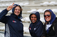 20190928 - 20190928 - Neder Over Hembeek, BELGIUM : AAC Amsterdam's players are pictured before the female rugby match between the Dendermonde RC Women  and AAC Amsterdam Rugby Women, this is the final of the BeNeCup  on Saturday 28th September 2019 at the Nelson Mandela Stadium , Belgium. PHOTO SPORTPIX.BE | SEVIL OKTEM