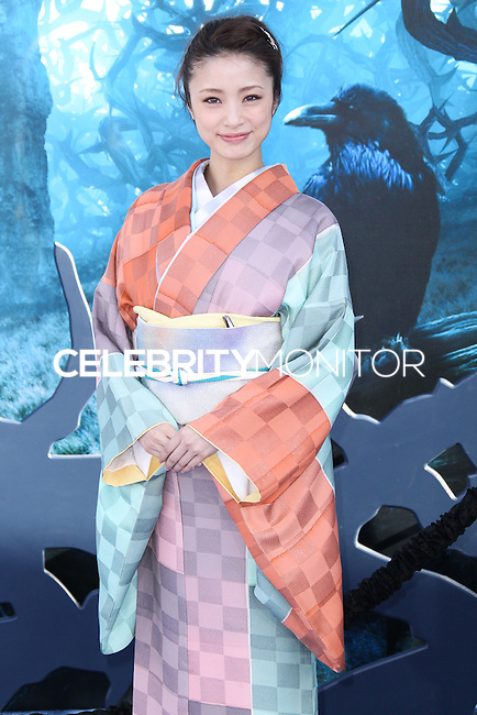HOLLYWOOD, LOS ANGELES, CA, USA - MAY 28: Aya Ueto at the World Premiere Of Disney's 'Maleficent' held at the El Capitan Theatre on May 28, 2014 in Hollywood, Los Angeles, California, United States. (Photo by Xavier Collin/Celebrity Monitor)