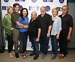 Dee Hoty, John Glover, Jodi Long, Michael Tucker, Tom McGowan, Jill Eikenberry and David Rasche attend the Meet and Greet for the New Jersey Repertory Company's production of 'Fern Hill' at Theatre Row Studios on July 24, 2018 in New York City