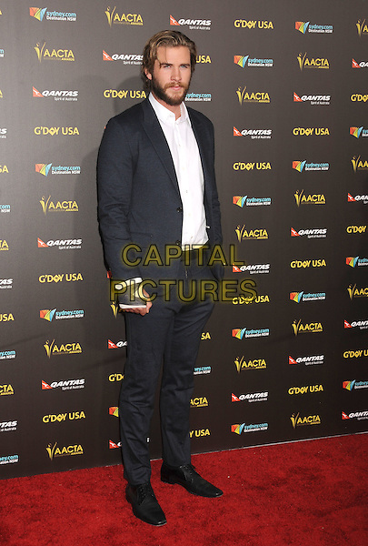 LOS ANGELES, CA - JANUARY 31: Actor Liam Hemsworth attends the 2015 G'Day USA Gala featuring the AACTA International Awards presented by Qantas at Hollywood Palladium on January 31, 2015 in Los Angeles, California.<br /> CAP/ROT/TM<br /> &copy;TM/ROT/Capital Pictures