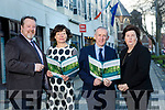 The Launch of the KETB  Education and Training Fair at the Brandon Hotel Tralee on Wednesday 22nd of March 10am- 6pm. Pictured Front l-r, Eoin O'Donnell, Area Training Manager, Sharon Brown, Adult Education Officer, Colin McEvoy, CEO and Siobhan Shanahan, Adult Education Officer KETB