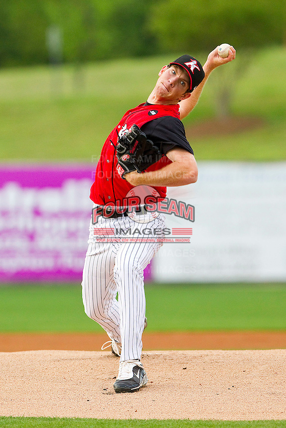 at Fieldcrest Cannon Stadium on April 21, 2011 in Kannapolis, North Carolina.   Photo by Brian Westerholt / Four Seam Images