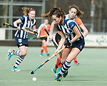 Den Haag - Hoofdklasse hockey dames, HDM-GRONINGEN  (6-2). Fay van der Elst (HDM)   COPYRIGHT KOEN SUYK