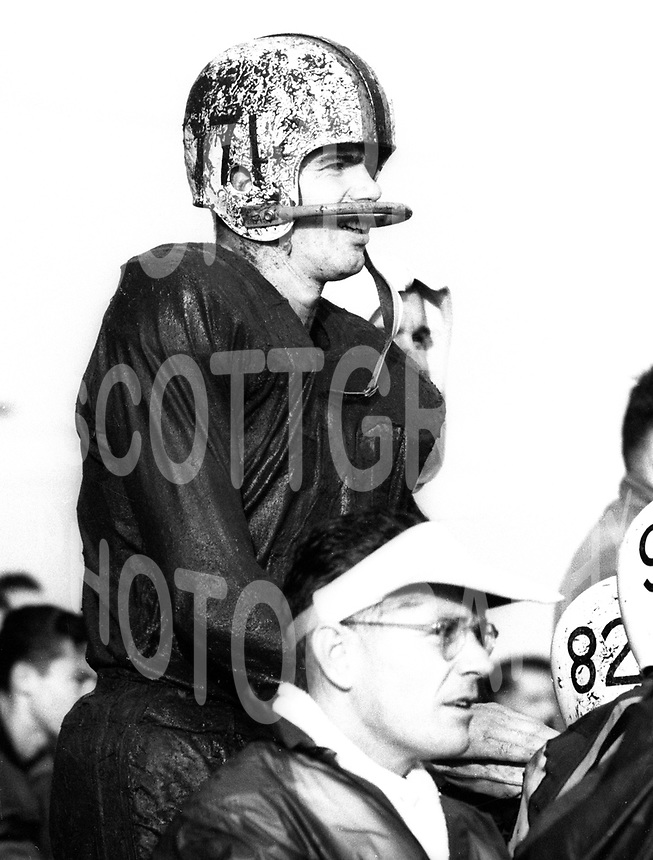 Ted Smale Ottawa Rough Riders 1959. Photo Ted Grant