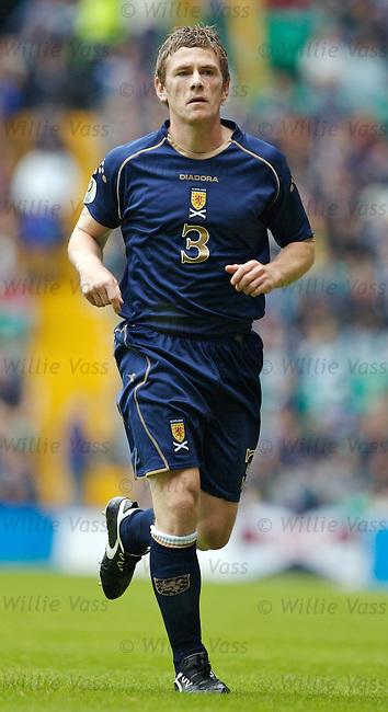 Gary Naysmith, Scotland.stock season 2006-2007.pic willie vass