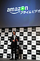 May 31, 2016, Tokyo, Japan - Amazon Japan president Jasper Cheung speakes at a promotional event for Amazon Prime Video in Tokyo on Tuesday, May 31, 2016. Amazon Japan announced they would increase original contents for Amazon' video distribution service in Japan.      (Photo by Yoshio Tsunoda/AFLO)