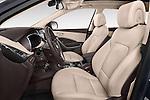 Front seat view of a 2015 Hyundai Grand Santa Fe Executive 5 Door SUV front seat car photos