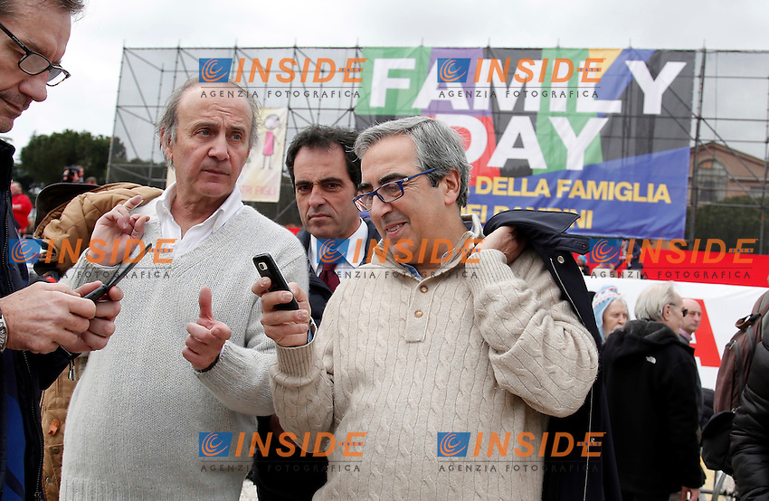 Maurizio Gasparri<br /> Roma 30-01-2016 Manifestazione Family Day 2016.<br /> Photo Samantha Zucchi Insidefoto
