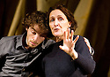The Rime of The Ancient Mariner by Samuel Taylor Coleridge, directed by Phyllida Lloyd. With Fiona Shaw and Daniel Hay-Gordon  Opens at The Old Vic Tunnels in Waterloo London on 8/1/13. CREDIT Geraint Lewis