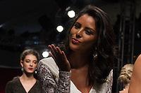 SÃO PAULO-SP-03.03.2015 - INVERNO 2015/MEGA FASHION WEEK -Yanna Lavigne/<br /> O Shopping Mega Polo Moda inicia a 18° edição do Mega Fashion Week, (02,03 e 04 de Março) com as principais tendências do outono/inverno 2015.Com 1400 looks das 300 marcas presentes no shopping de atacado.Bráz-Região central da cidade de São Paulo na manhã dessa segunda-feira,02.(Foto:Kevin David/Brazil Photo Press)