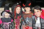 Eliza, Marie, Daniel and Loreno Turc, Beaufort dressed to scare at the Knocknagoshel Halloween celebrations on Sunday night..
