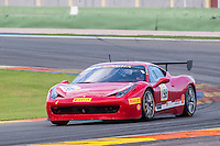 VALENCIA, SPAIN - OCTOBER 2: Eric Cheung during Valencia Ferrari Challenge 2015 at Ricardo Tormo Circuit on October 2, 2015 in Valencia, Spain