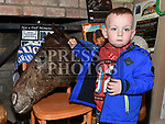 Tadhg Murphy met The Head of Caughoo at the ceili in Frank's Country Cottage, Donore. Photo:Colin Bell/pressphotos.ie