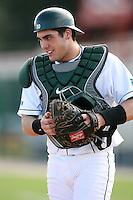 February 20, 2009:  Catcher Andy Johnson (30) of Michigan State University during the Big East-Big Ten Challenge at Jack Russell Stadium in Clearwater, FL.  Photo by:  Mike Janes/Four Seam Images