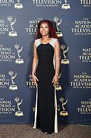 PASADENA - May 5: Trudyann Binger in the press room at the 46th Daytime Emmy Awards Gala at the Pasadena Civic Center on May 5, 2019 in Pasadena, California