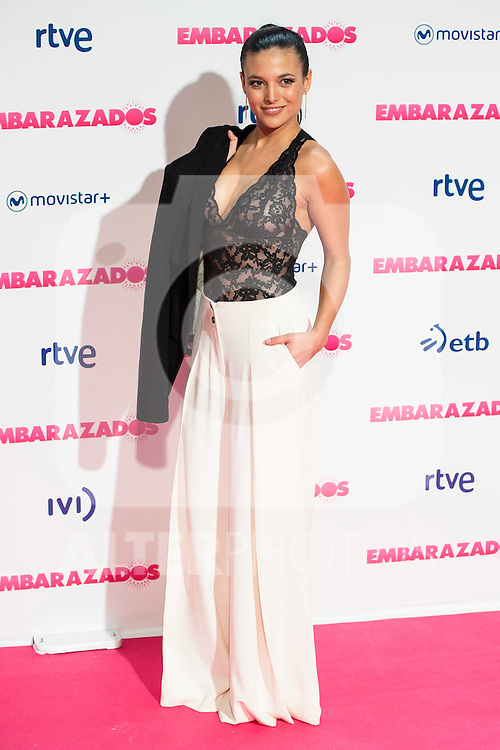 Elisa Mouliaa attends to the premiere of the film &quot;Embarazados&quot; at Capitol Cinemas in Madrid, January 27, 2016.<br /> (ALTERPHOTOS/BorjaB.Hojas)