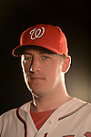 VIERA, FL - FEBRUARY 11:  Pitcher Jordan Zimmerman of the Washington Nationals Baseball Club poses for a photo at Spacecoast Stadium February 11, 2013 in Viera, Florida (Photo by Donald Miralle for the Washington Nationals Baseball Club)