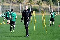 SOTOGRANDE  - Voetbal, Trainingskamp FC Groningen, seizoen 2017-2018, 12-01-2018,  assistent trainer Peter Hoekstra