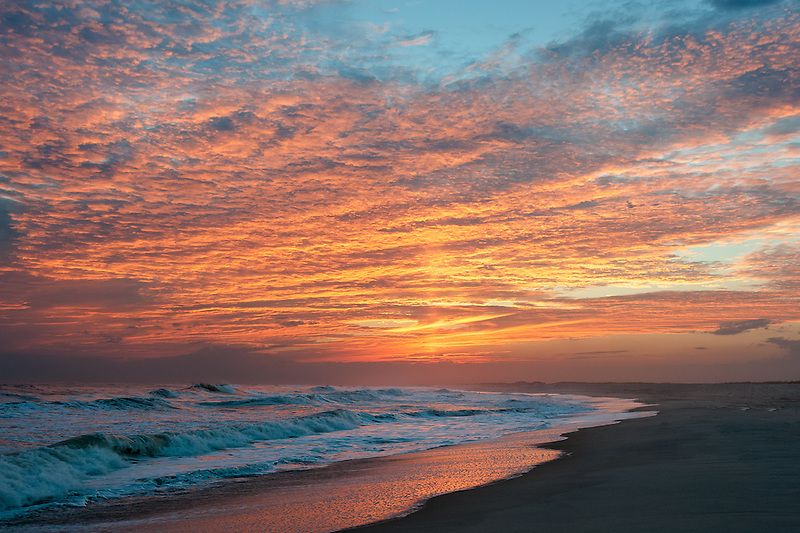 Atlantic Surf Sunset<br />