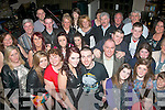 JOINT 21ST: Chloe Falvey and Sean Whelan, Abbeydorney (front centre) celebrated their 21st birthdays last Saturday night in Kirby's Brogue, Tralee with many family and friends