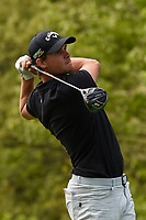 Thomas Pieters (BEL) watches his tee shot on 10 during round 4 of the 2019 PGA Championship, Bethpage Black Golf Course, New York, New York,  USA. 5/19/2019.<br /> Picture: Golffile | Ken Murray<br /> <br /> <br /> All photo usage must carry mandatory copyright credit (© Golffile | Ken Murray)