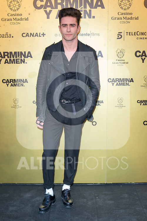 "Spanish model Pelayo attend the Premiere of the movie ""Carmina y Amen"" at the Callao Cinema in Madrid, Spain. April 28, 2014. (ALTERPHOTOS/Carlos Dafonte)"